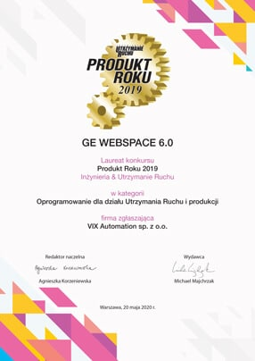 Webspace dyplom Produkt Roku