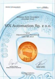 VIX Automation Lider HR