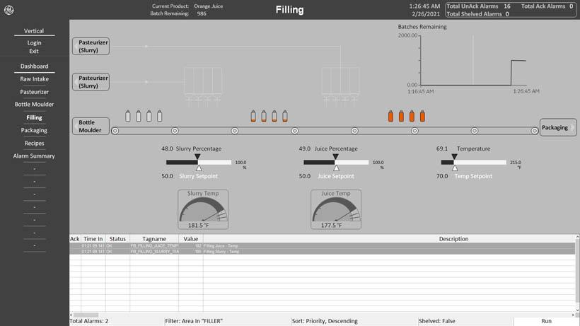 SCADA ifix 6.5 system demo